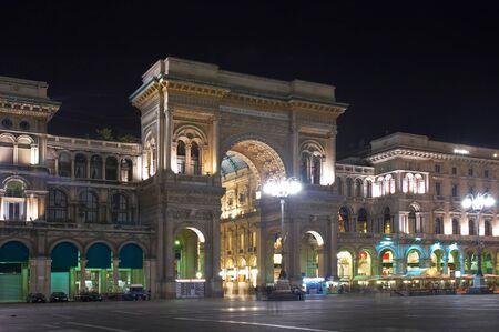 vittorio emanuele: Galleria Vittorio Emanuele II, Piazza del Duomo, Milan, Italy