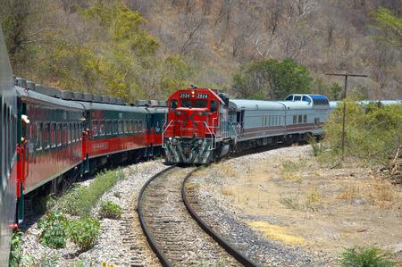エル ・ Chepe 鉄道、コッパー キャニオン、メキシコ