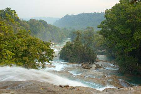 azul: Agua Azul waterfalls, Chiapas, Mexico