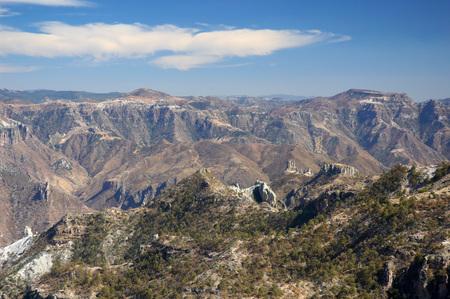 Copper Canyon, Mexiko Standard-Bild