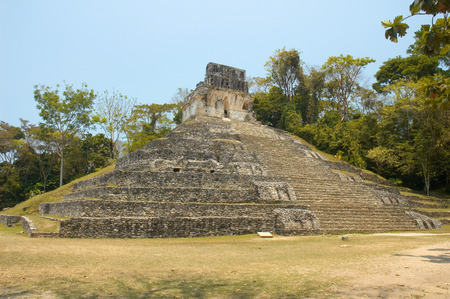 ���archeological site���: Palenque archeological site, Chiapas, Mexico