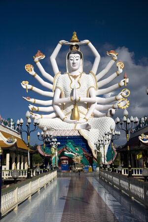 'koh samui': Buddha statue and temple on Koh Samui Island, Thailand