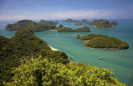 angthong: Angthong national park close to Koh Samui island, Thailand Stock Photo