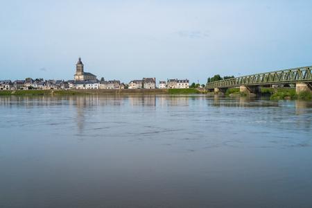 pictoresque: Village of Saint Mathurin sur Loire near Angers, France