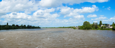 pictoresque: Loire river close to Angers, France