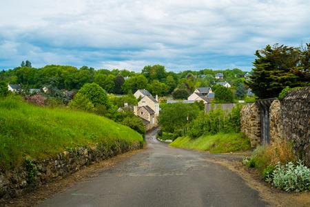 pictoresque: Le thoureil village along the Loire, France