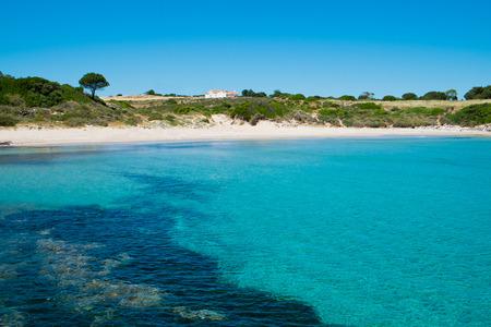Bobba beach in San Pietro island, Sardinia, Italy Archivio Fotografico