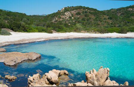 principe: Playa del Pr�ncipe en la costa esmeralda en el norte de Cerde�a, Italia