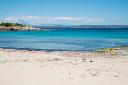 pietro: Bobba beach in San Pietro island, Sardinia, Italy Stock Photo