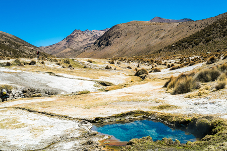 geysers: Geysers in Sajama National Park, Bolivia