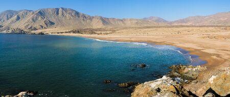 Beach in Parque Nacional Pan de Azucar, Chile