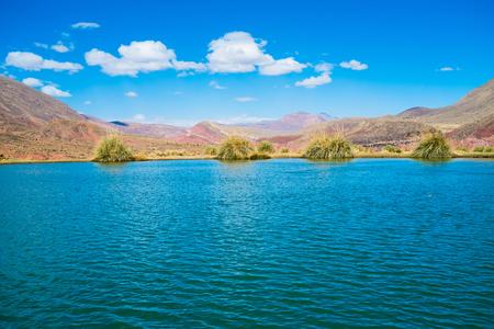 Ojo del Inca hot spring close to Potosi, Bolivia