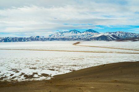 nevado: Landscape in Parque Nacional Nevado Tres Cruces, Chile