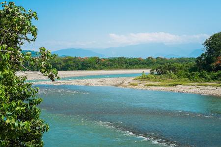 River in Villa Tunari at the door of the amazon, Bolivia