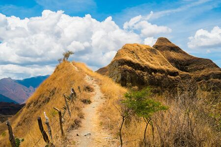 Mandango trail in Vilcabamba, Ecuador Stock Photo