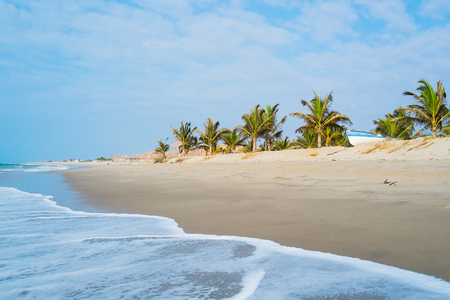 Beach of Zorritos, Tumbes, Peru