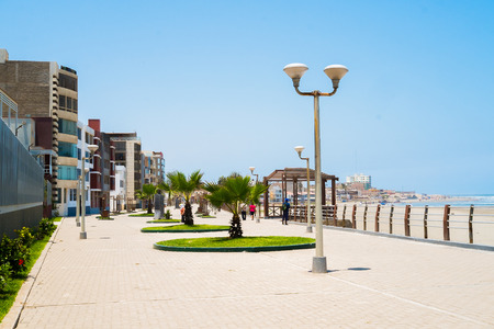 seafronts: Pimentel waterfront, chiclayo, Peru