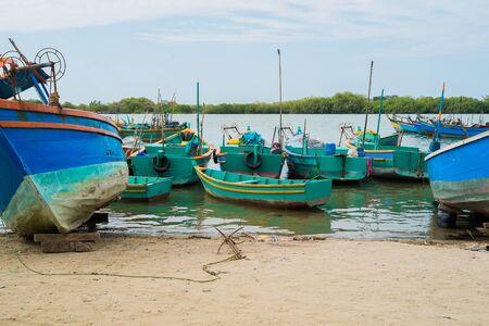 Fishing harbour of Puerto Pizarro, Tumbes, Peru