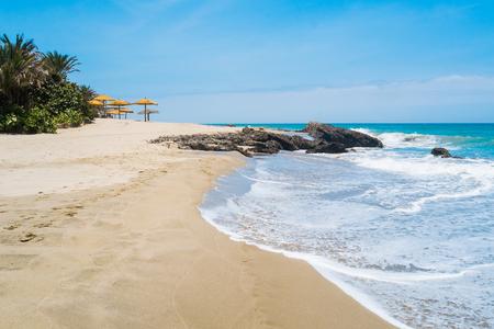 Strand von Punta Sal, Mancora, Peru