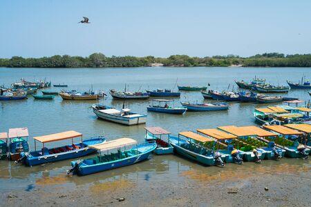 pizarro: Fishing harbour of Puerto Pizarro, Tumbes, Peru
