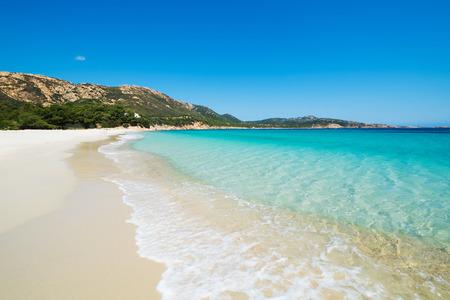 Tuerredda strand in Teulada, Sardinië, Italië Stockfoto