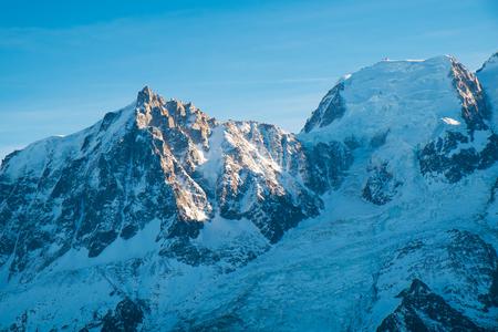 Aiguille du Midi on the Mont Blanc, Chamonix, France