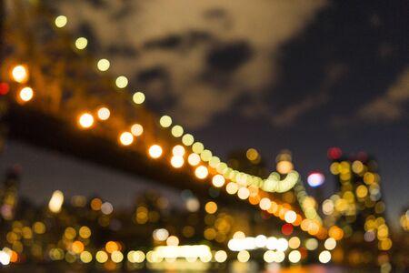 An unfocus image of nightscape Stock fotó