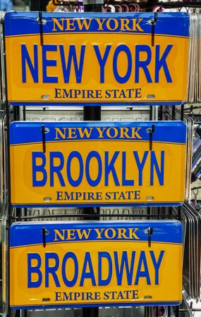 New York, Brooklyn, Broadway Stockfoto
