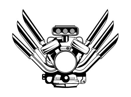 Vector moteur moteur