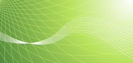 Vector abstract green hi-tech background Stock Vector - 2338180