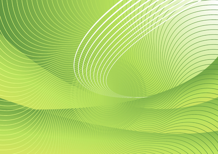 Vector abstract green hi-tech background #2 Stock Vector - 2483235