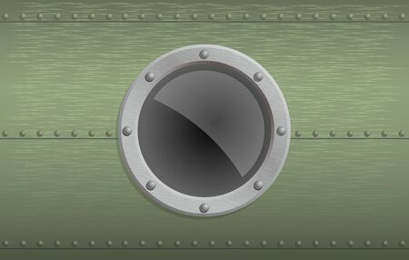 Illustration of a clear illuminator with metal texture Stock Illustration - 3343011