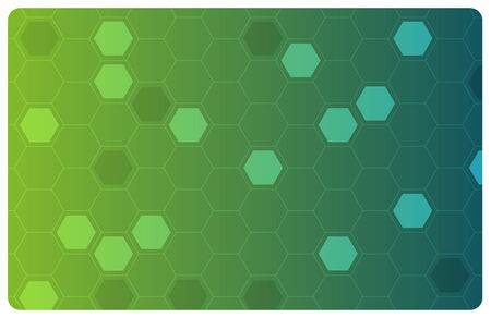 Vector green abstract hi-tech illustration for science or business background Stock Vector - 3346798