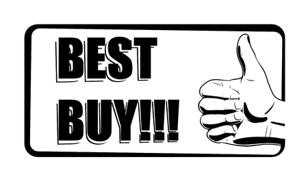 Vector illustration of best buy icon Vector