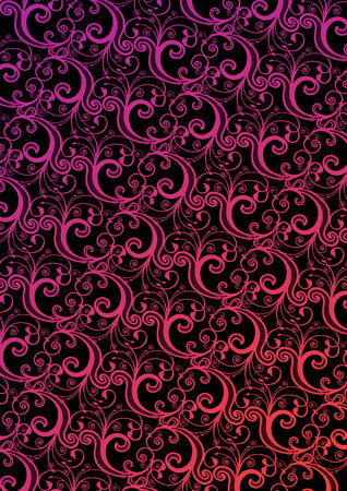 Vector stylish pink and black wallpaper