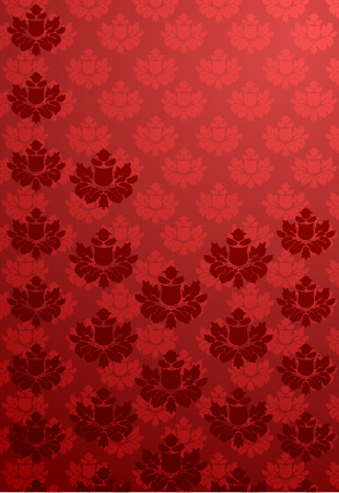 bordo: Vector illustration of a vertical red glamour pattern