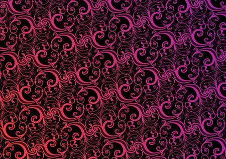 Vector stylish pink and black wallpaper  Vector