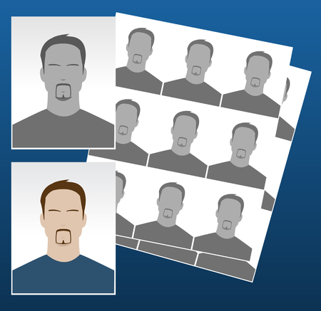 documentation: photo icons with different faces for documentation