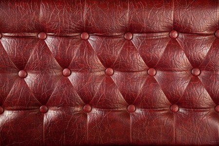 Texture of royal dark red leather  photo