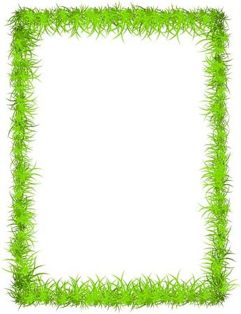 frisches Gras Rahmen mit textfreiraum für Ihren Text oder Foto