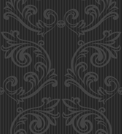 seamless floral pattern for wallpaper  Vector
