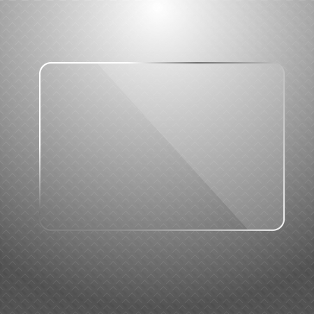 abstract silver technology background with transparent design element   Vector