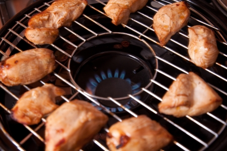 Chicken Gasgrill : Tec patio fr infrared gas grill series review for bbq chicken on