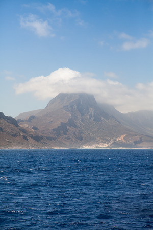 Mountain view, Crete, Greece  photo
