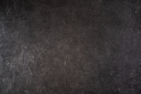 Set of scratches on a gray grungy surface, landscape orientation