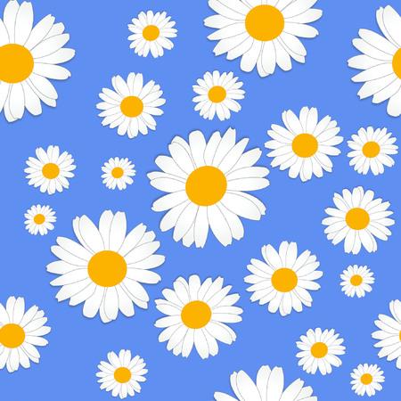 Daisy flower pattern Illustration