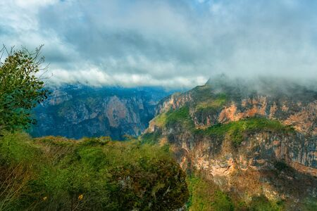 Canyon del Sumidero National Park. Chiapas, Mexico. 免版税图像