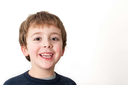 Little Boy Smiling photo