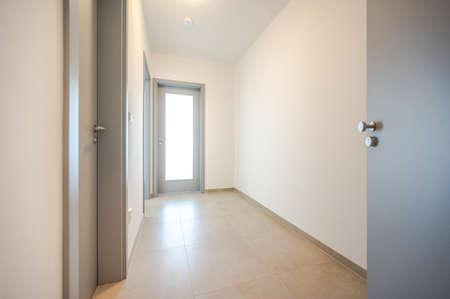Nice corridor in flat apartment. Reklamní fotografie