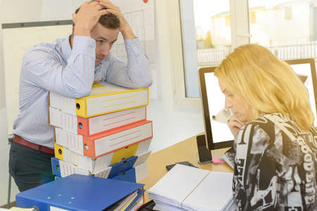 Stress and work overload in the workplace